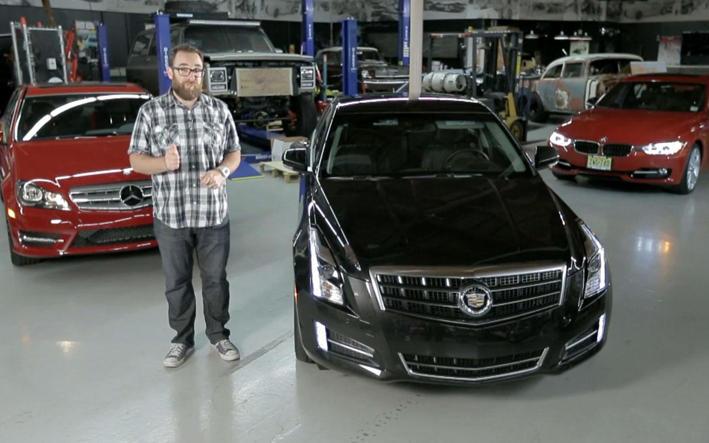 Feature Flick: Cadillac ATS V-6 Battles BMW 335i, Mercedes C350 in