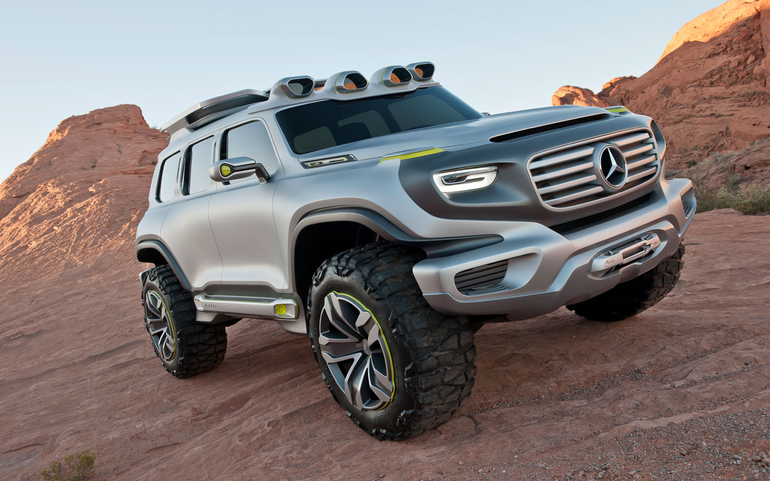 Mercedes Benz Ener G Force Concept Front Passengers Side