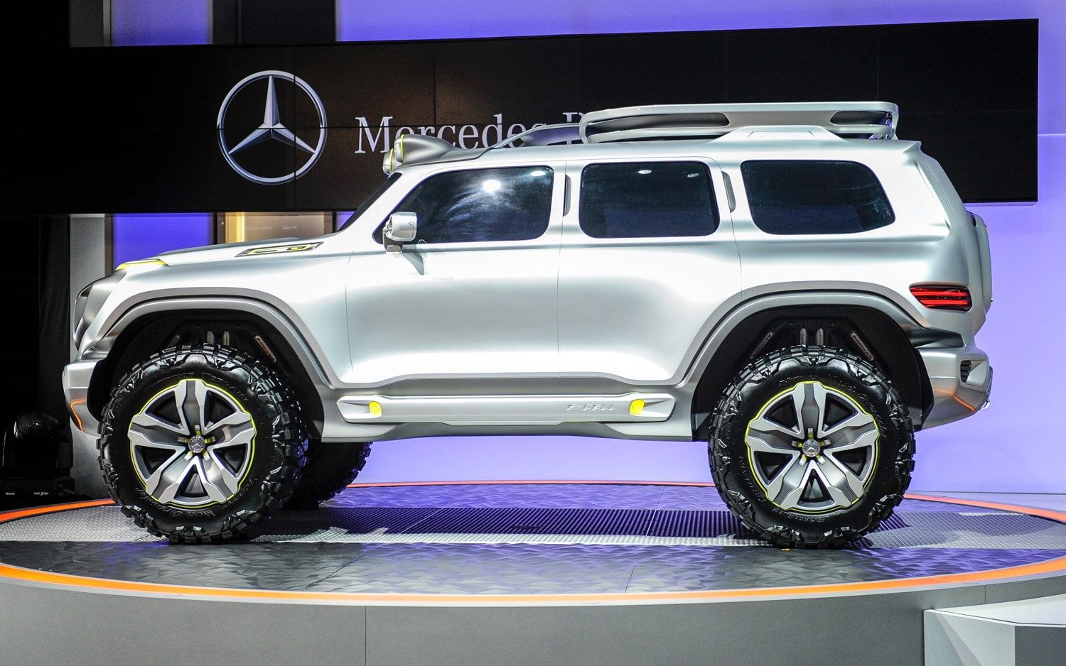 First Look Mercedes Benz Ener G Force Concept Automobile Magazine