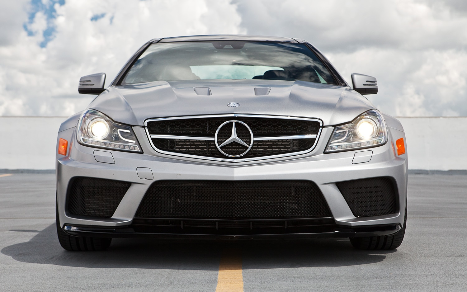 2012 Mercedes Benz C63 Amg Coupe Black Series Editors Notebook
