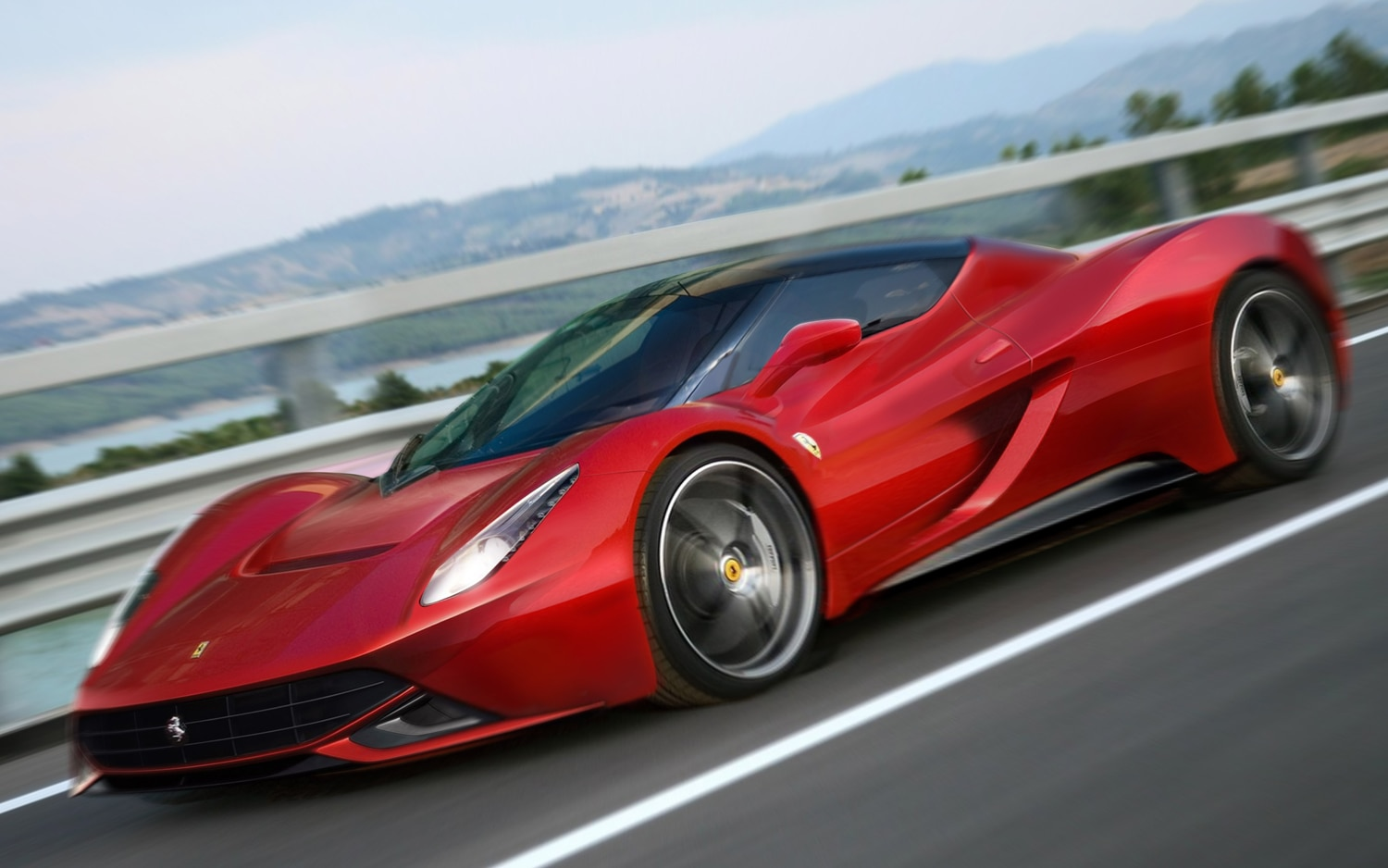 Is This Leaked Teaser The New Ferrari F70