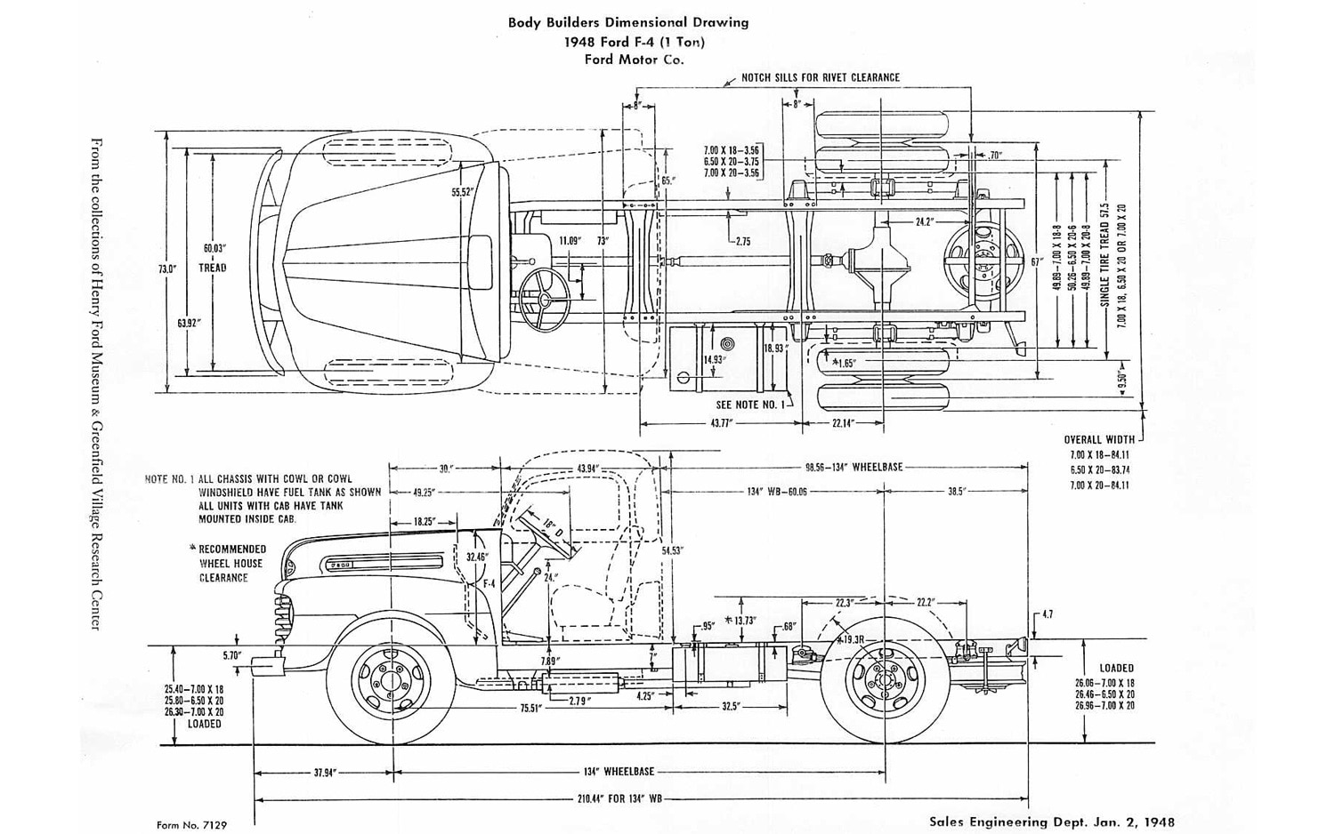 Ford F Body Diagram on 1960 chevy panel truck