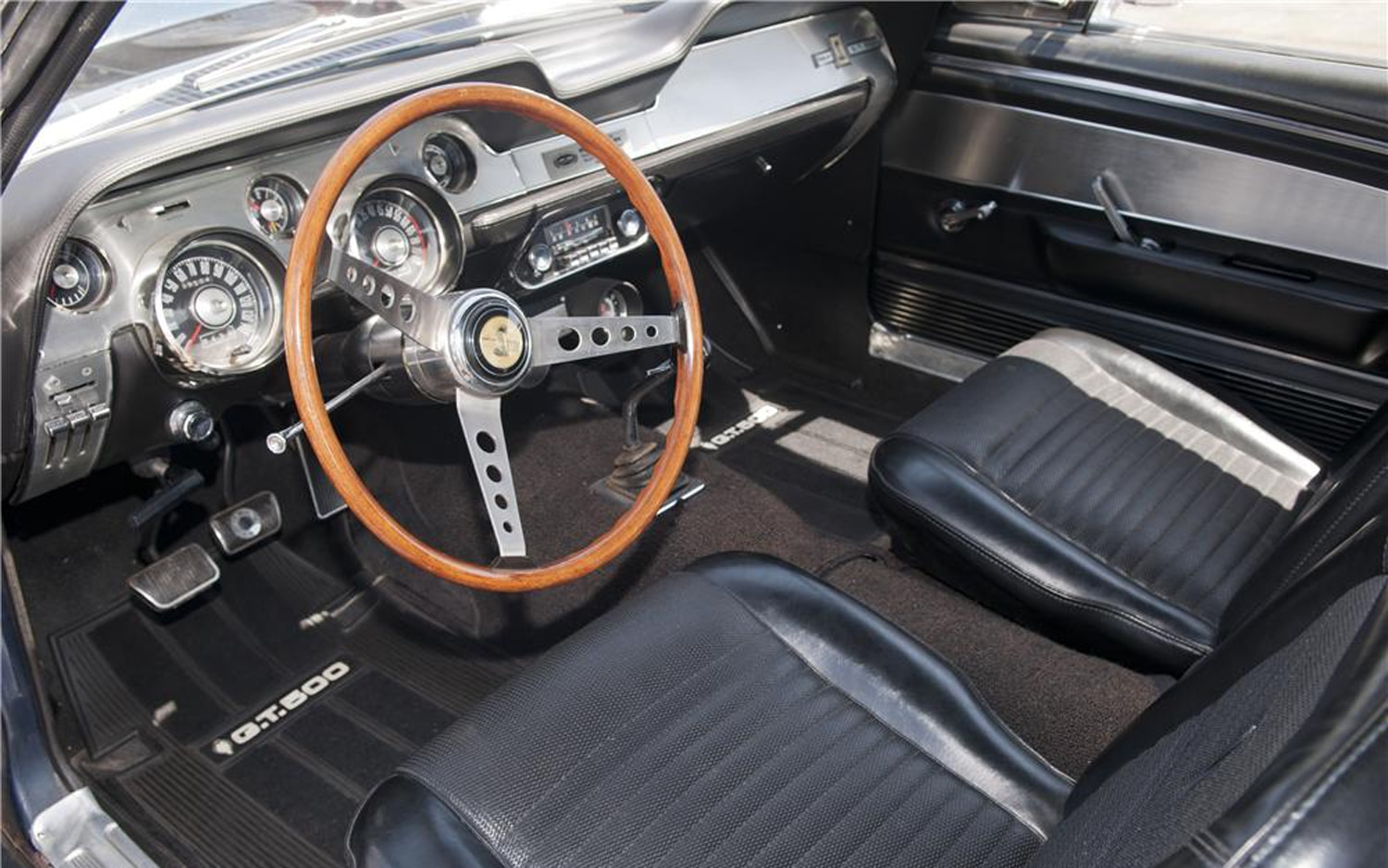 Early, Original 1967 Shelby GT500 Up for Auction, Has Less ...