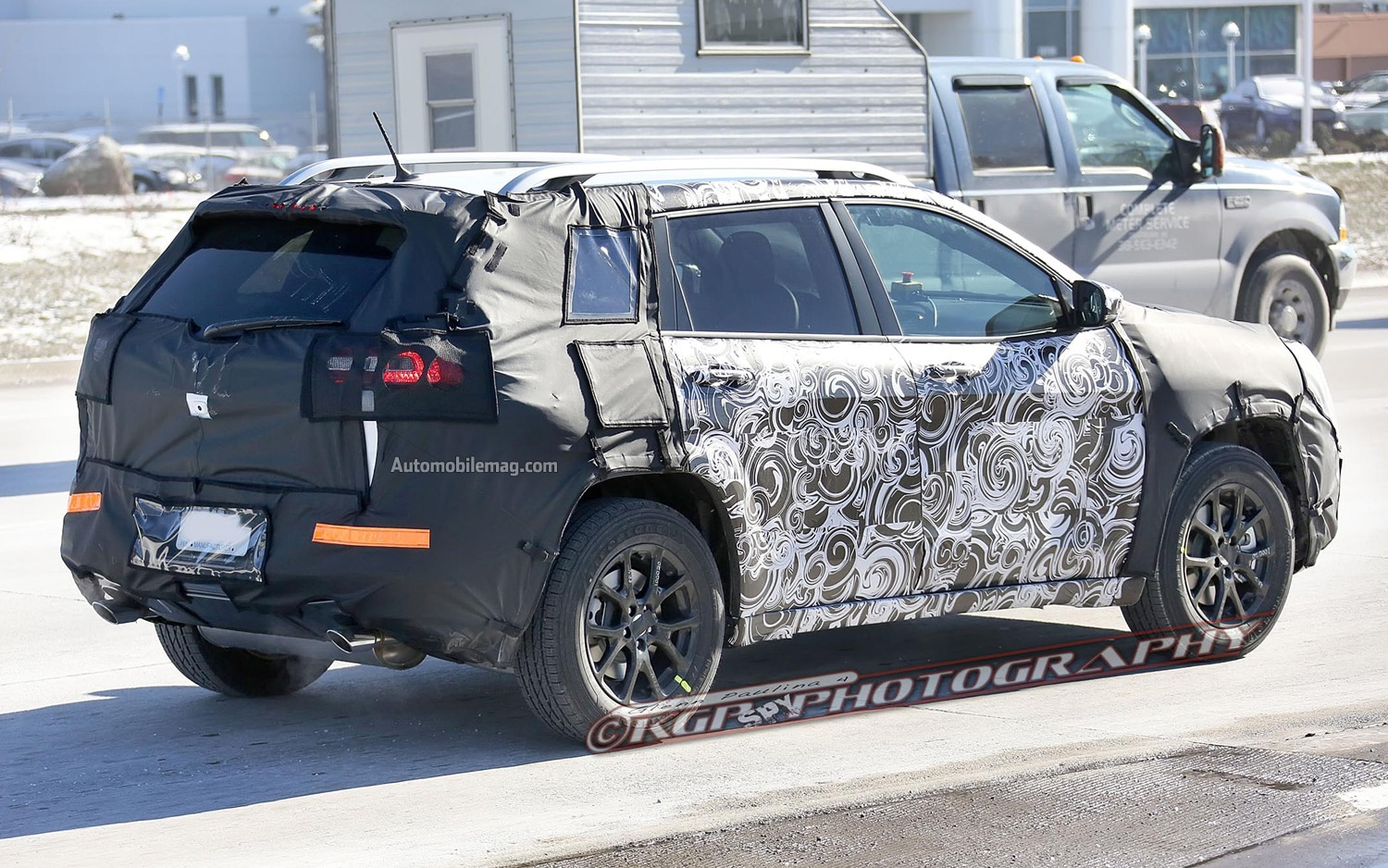 Spied 2014 Jeep Liberty Interior And Exterior
