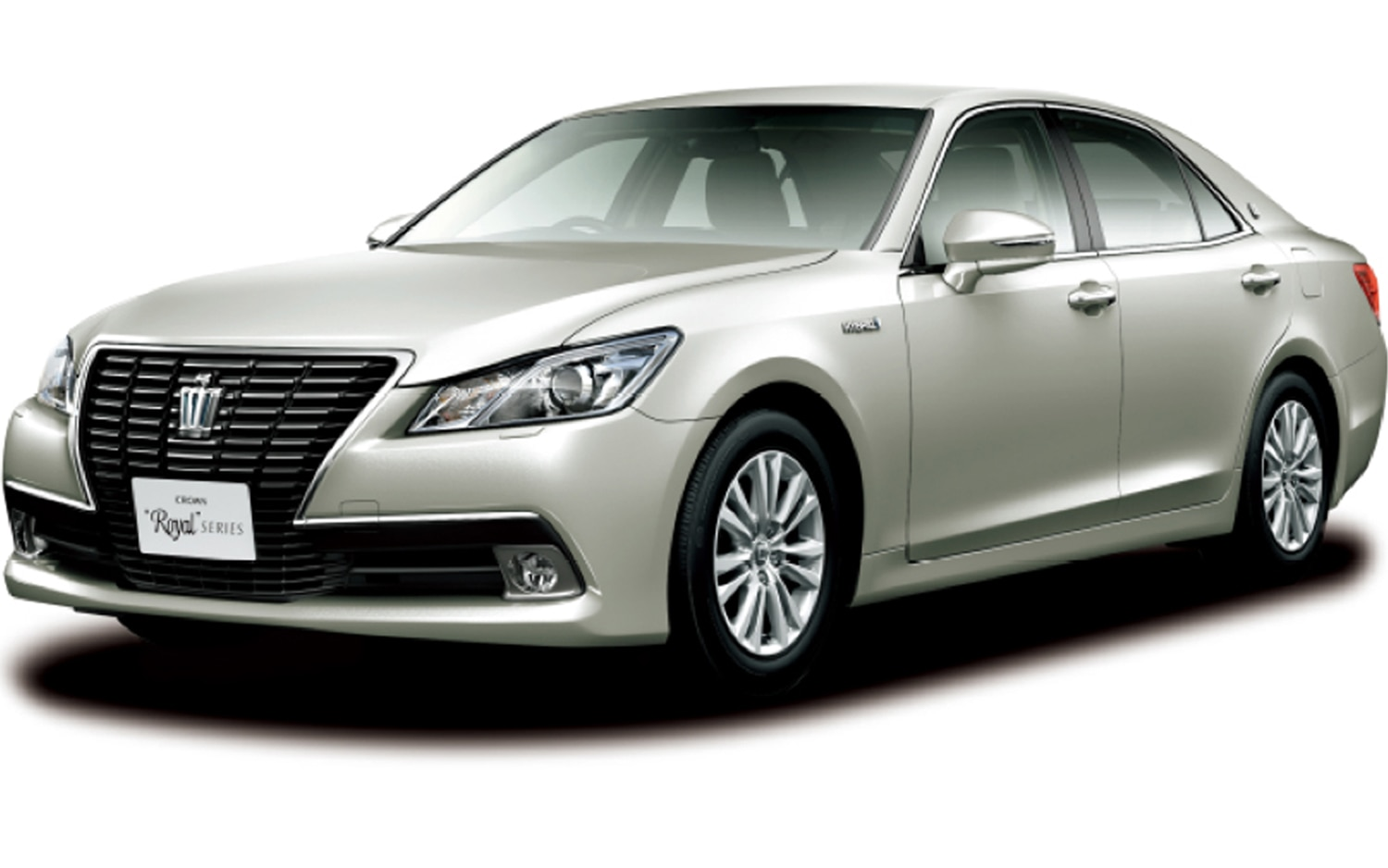 Toyota Crown Royal Saloon G Front Three Quarter View1