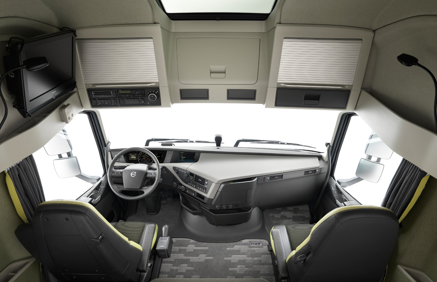 Volvo Fh Globetrotter Cabin View