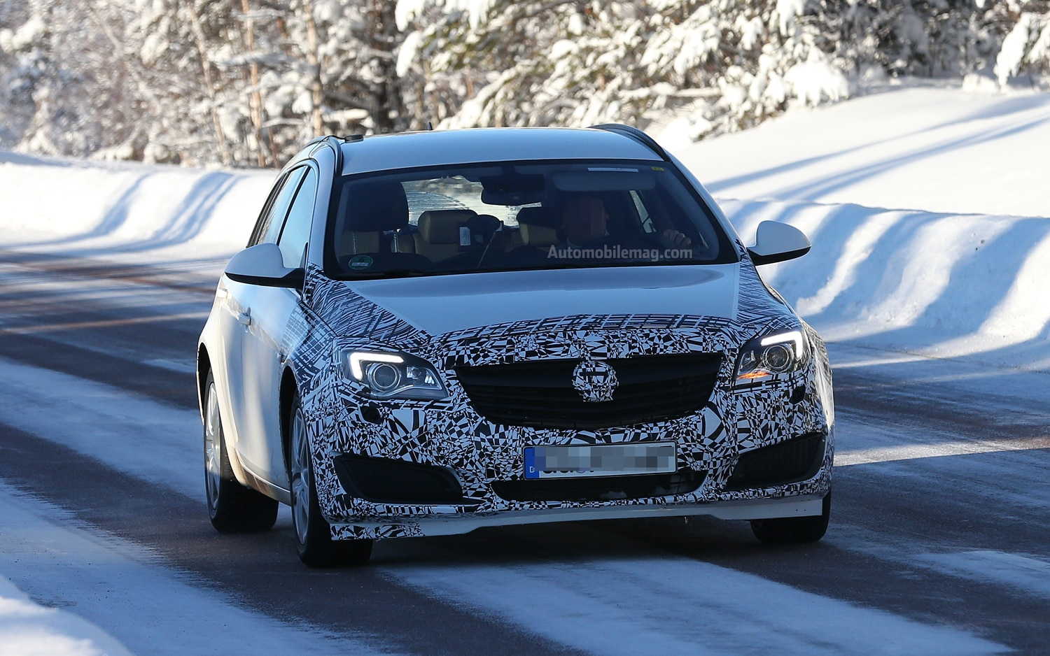 Spied: Opel Insignia Sport Tourer Hints at Potential Buick