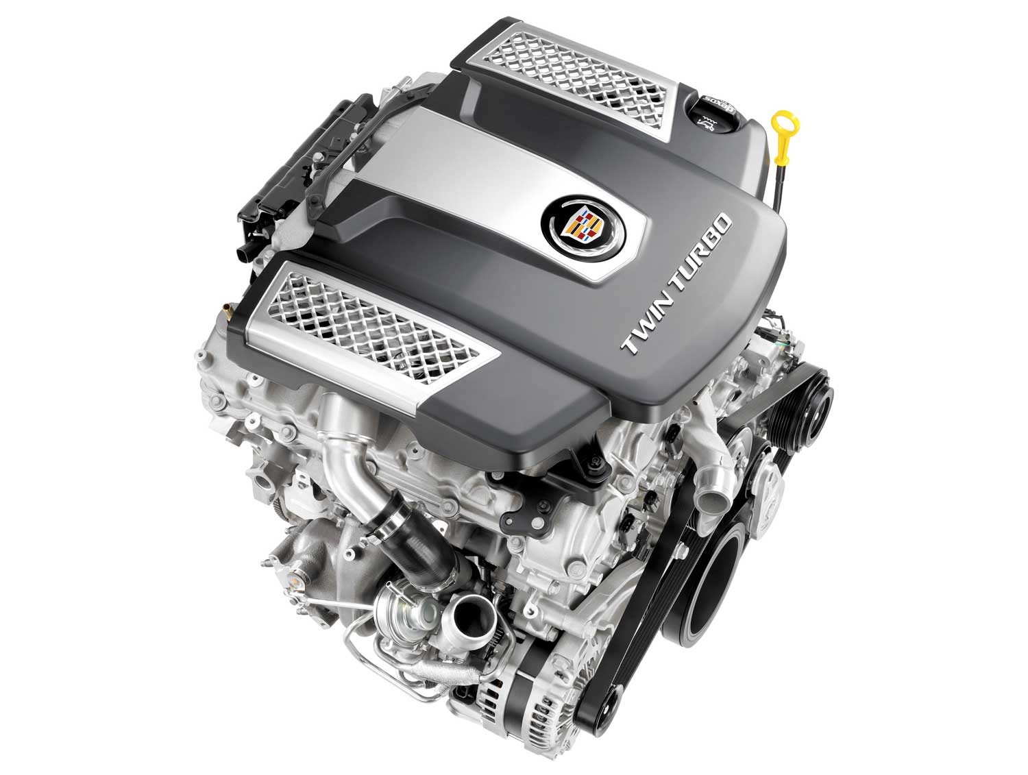 Cadillac Adds Twin-Turbo V-6 to New CTS