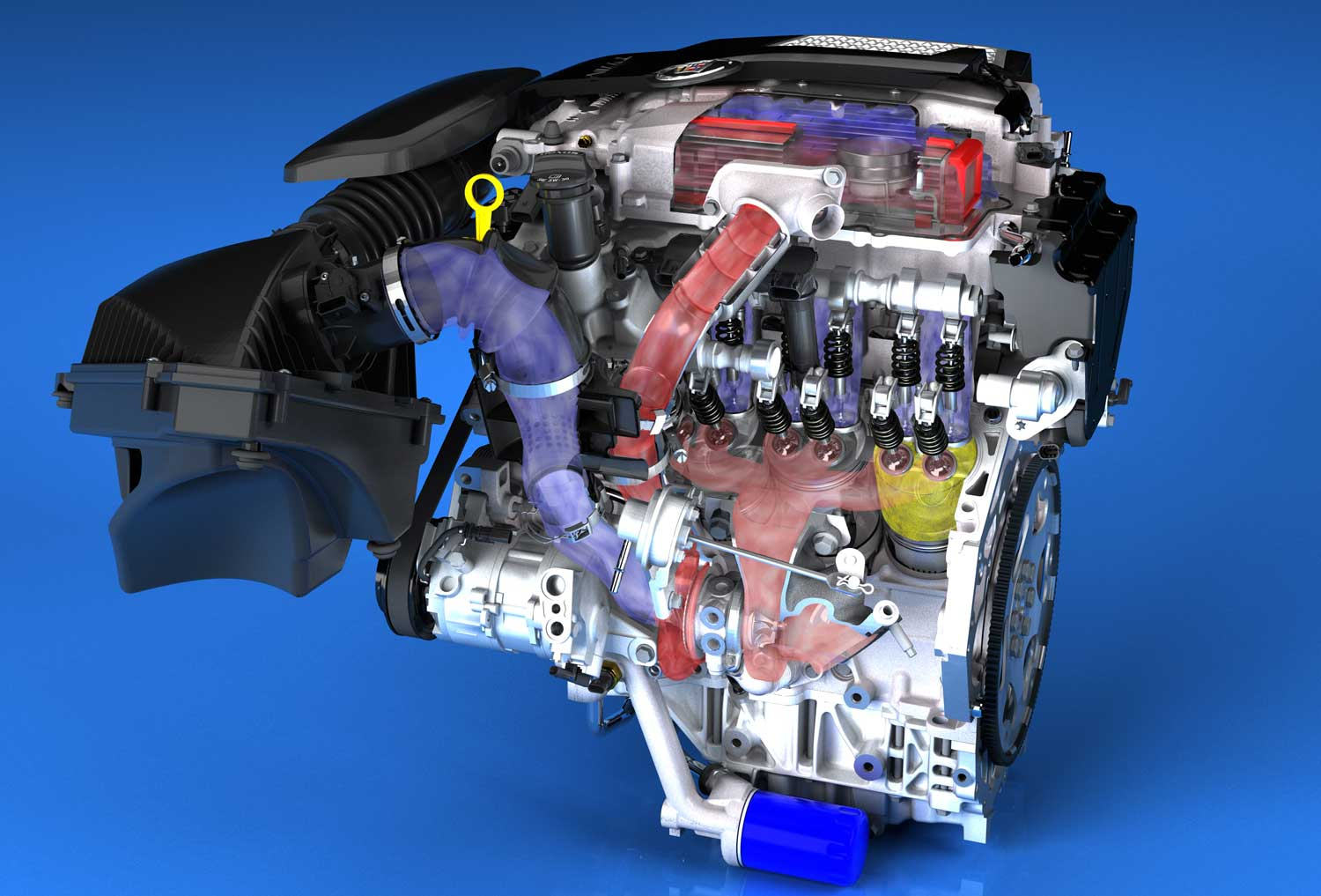 Cadillac Adds Twin Turbo V 6 To New Cts 2000 Chevrolet 3 4 Liter Engine Diagram Show More