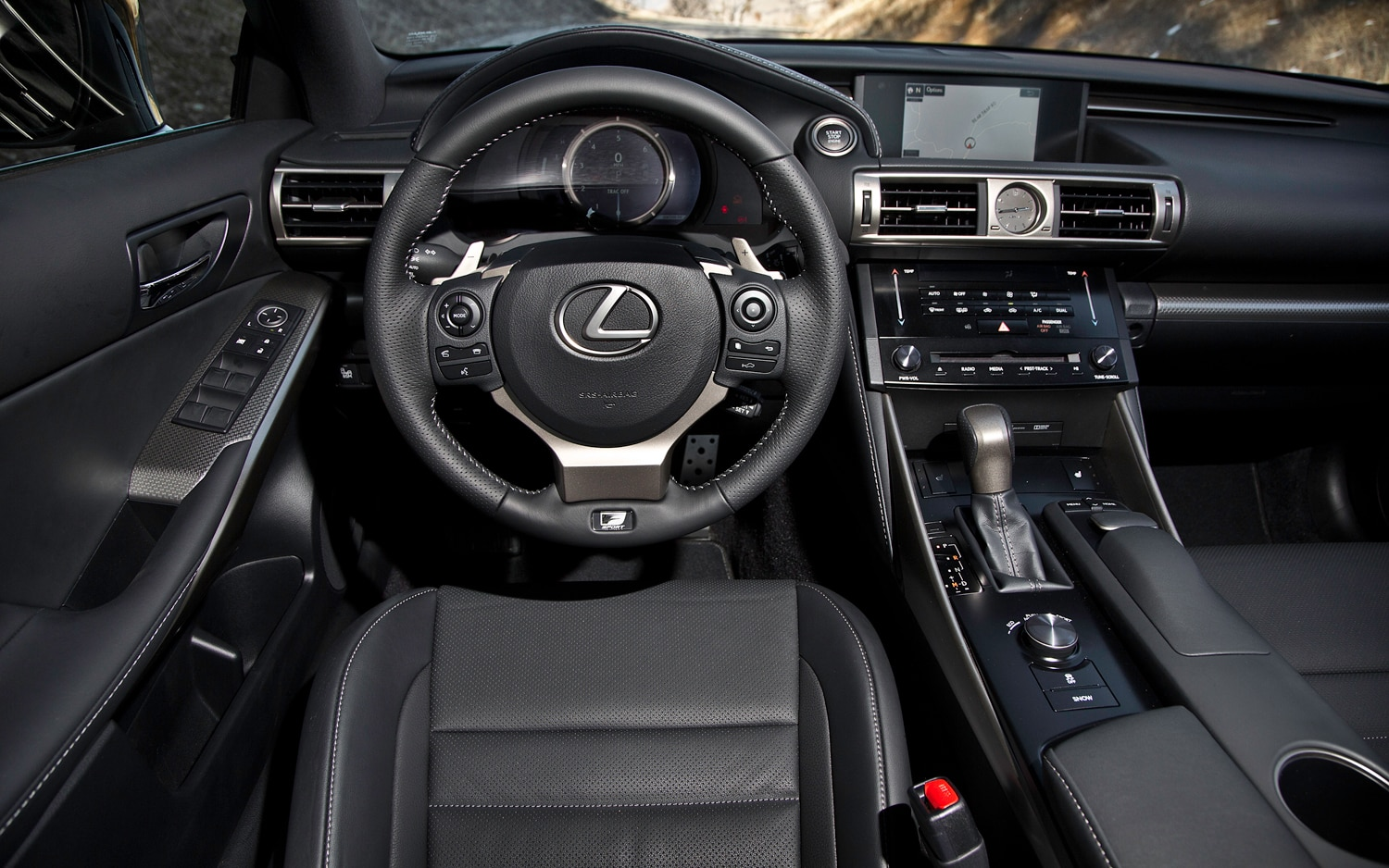 2014 lexus is first drive - automobile magazine