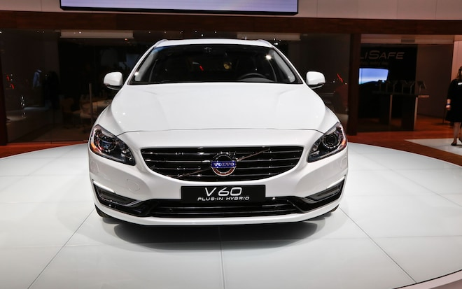 New York 2013 2014 Volvo V60 Is A Return To Form