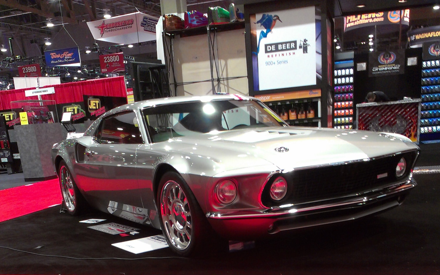 Our Kind Of Hybrid Building The Ford Mach 40 1969 Mustang Christian Seabaugh