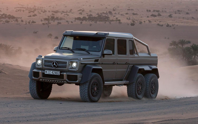 More Photos Of The Wild Mercedes Benz G63 Amg 6x6