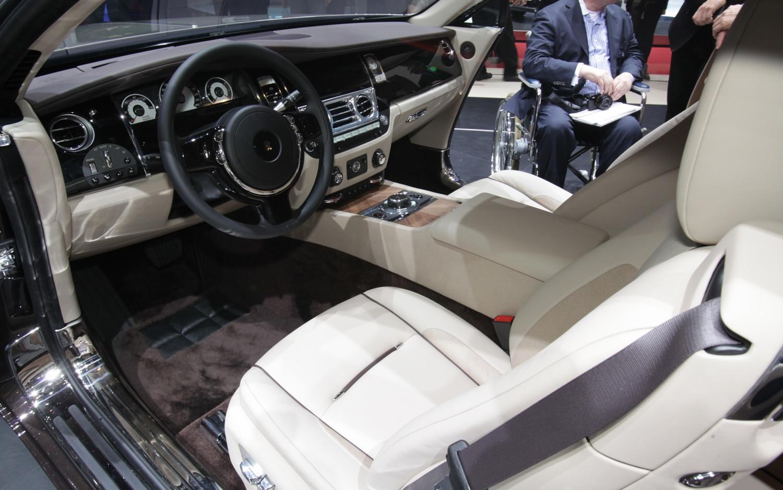 First Look 2014 Rolls Royce Wraith Automobile Magazine
