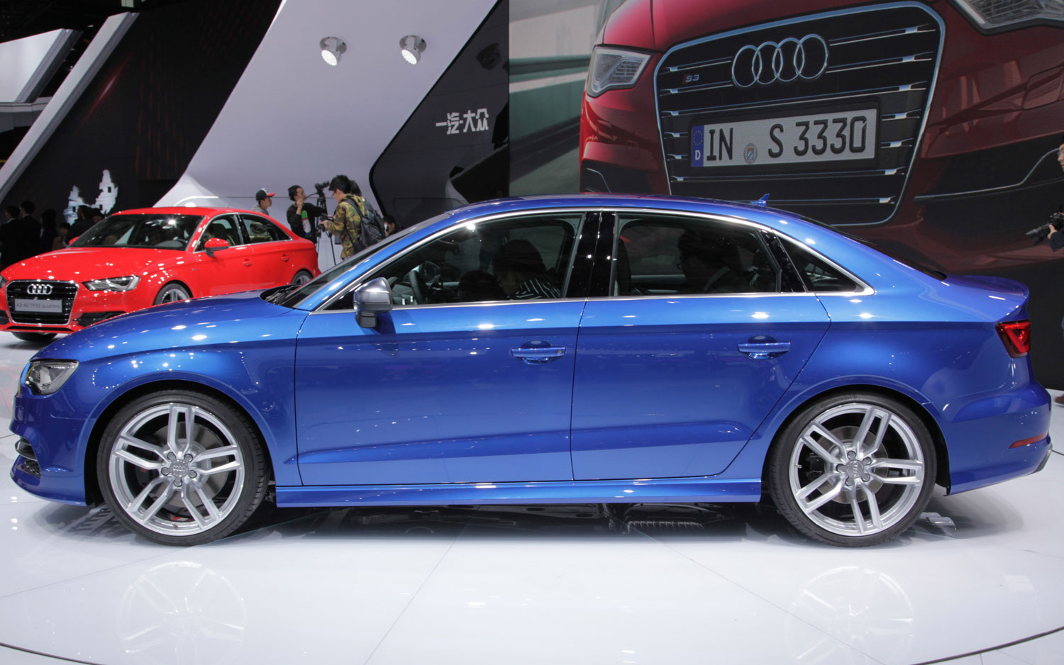 Shanghai Audi A Goes ThreeBox - Audi s3 coupe