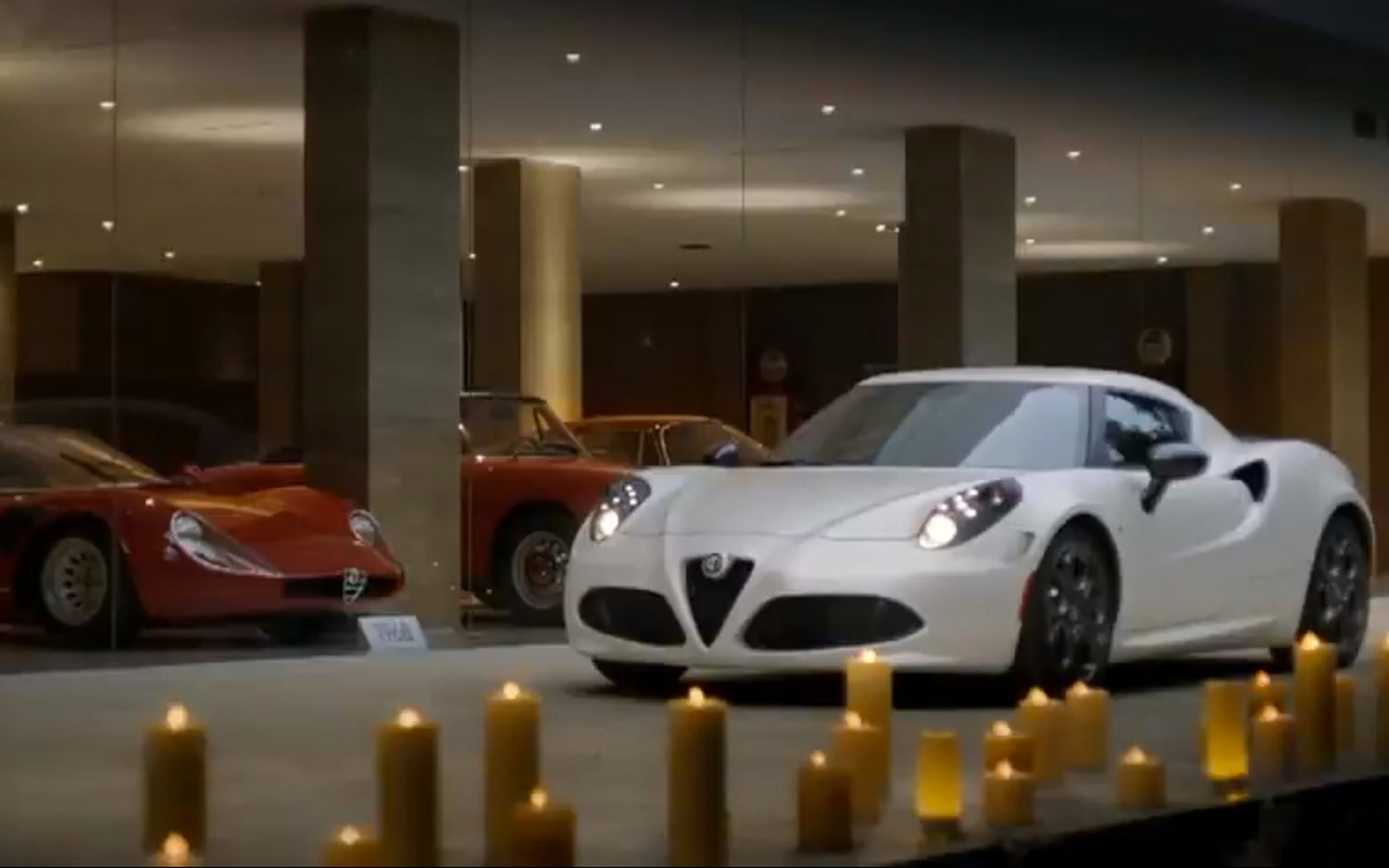 Alfa Romeo 4C In Front Of Garage1