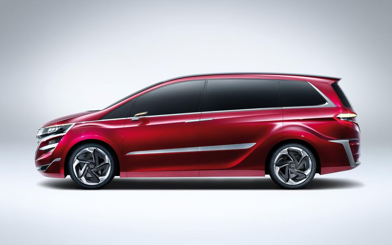 Honda Concept M Acura Suv X Debut In Shanghai Van Fuse Box Show More