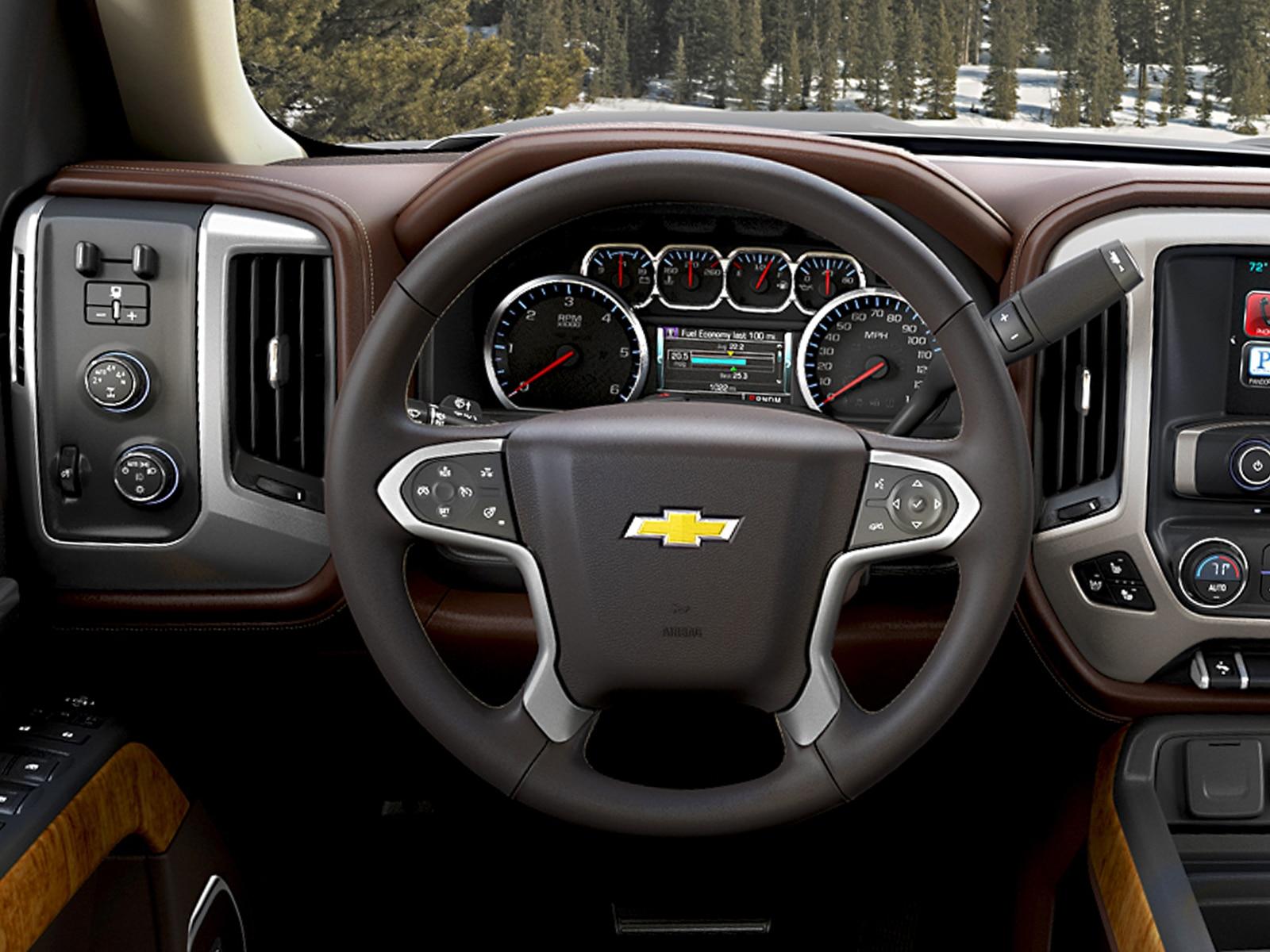 2014 Chevrolet Silverado First Drive Automobile Magazine Steering Wheel Some
