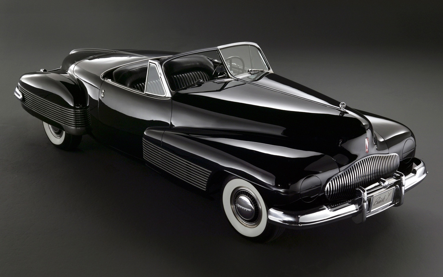 1938 Buick Y Job Front Three Quarters View