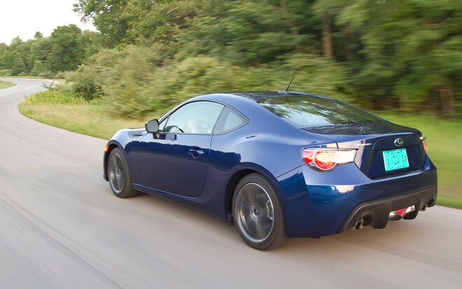 2013 Subaru BRZ Premium Rear Left Side View1