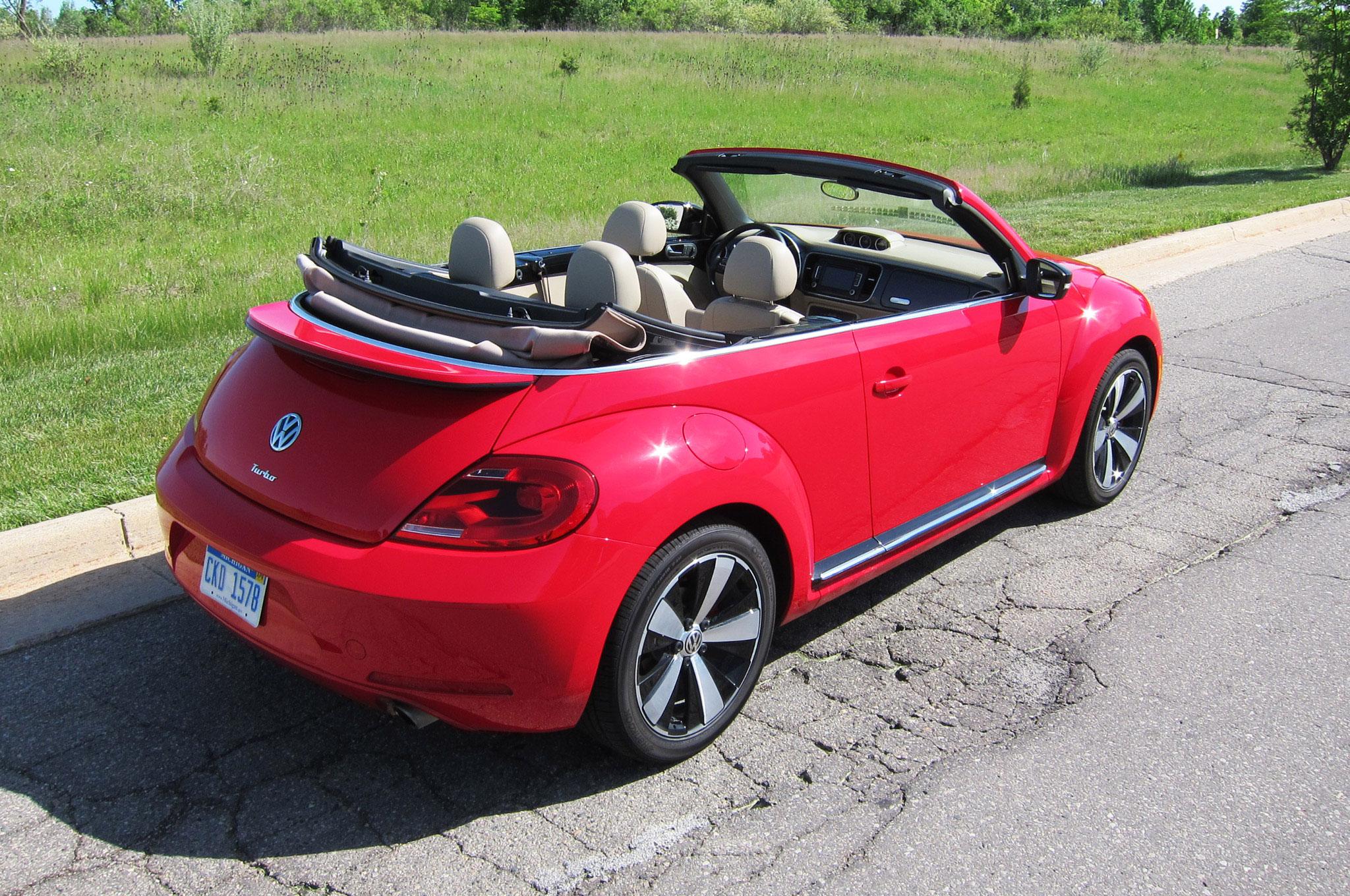 2013 Volkswagen Beetle Turbo Convertible - Four Seasons ...