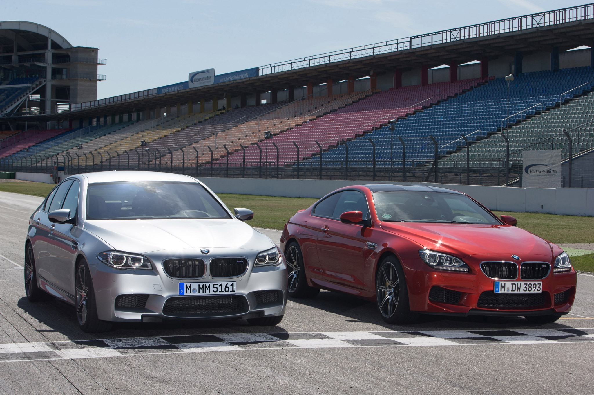 2014 BMW M5 And M6 Competition Package Pair 11
