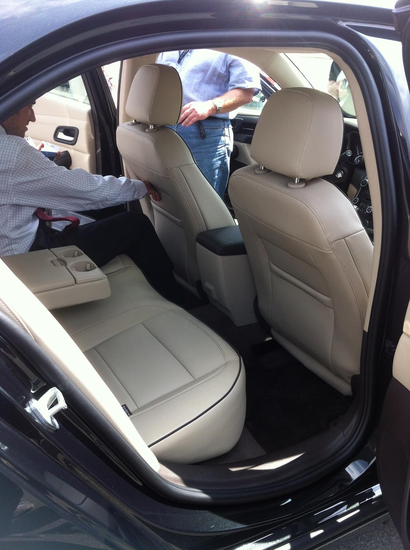 2014 Chevrolet Malibu Rear Interior