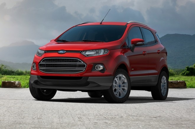 Ford EcoSport left front 3