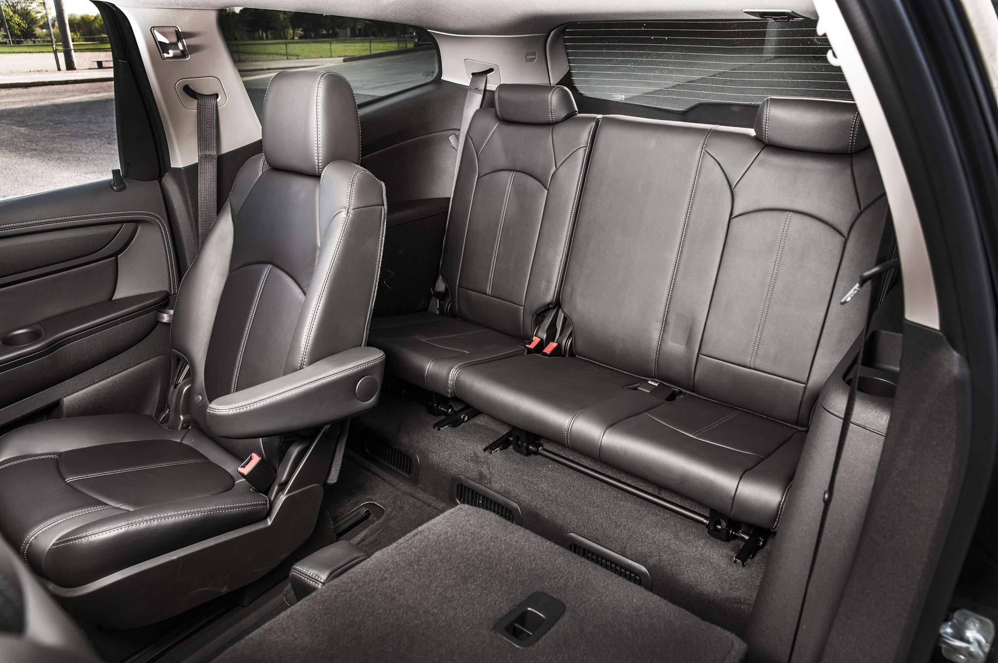 Chevrolet Traverse Awd Lt Rear Seating