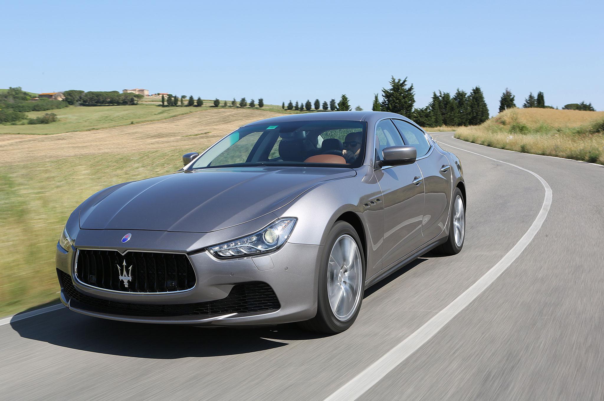 2014 Maserati Ghibli First Drive Automobile Magazine Spyder Wiring Diagram Main