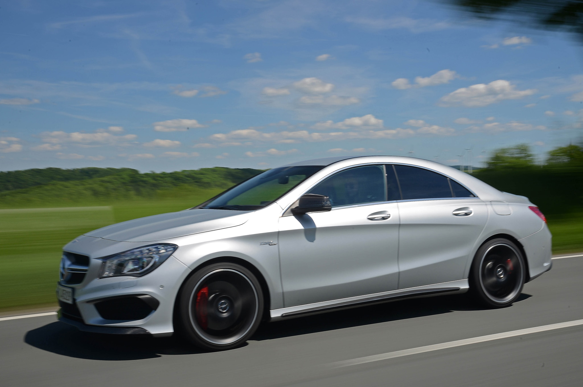 2014 mercedes benz cla45 amg first drive automobile magazine. Black Bedroom Furniture Sets. Home Design Ideas