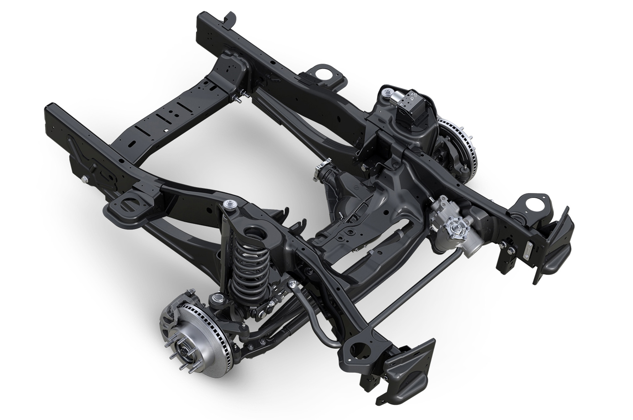 2014 Ram Heavy Duty Pickups Upgraded Gain Air Suspension