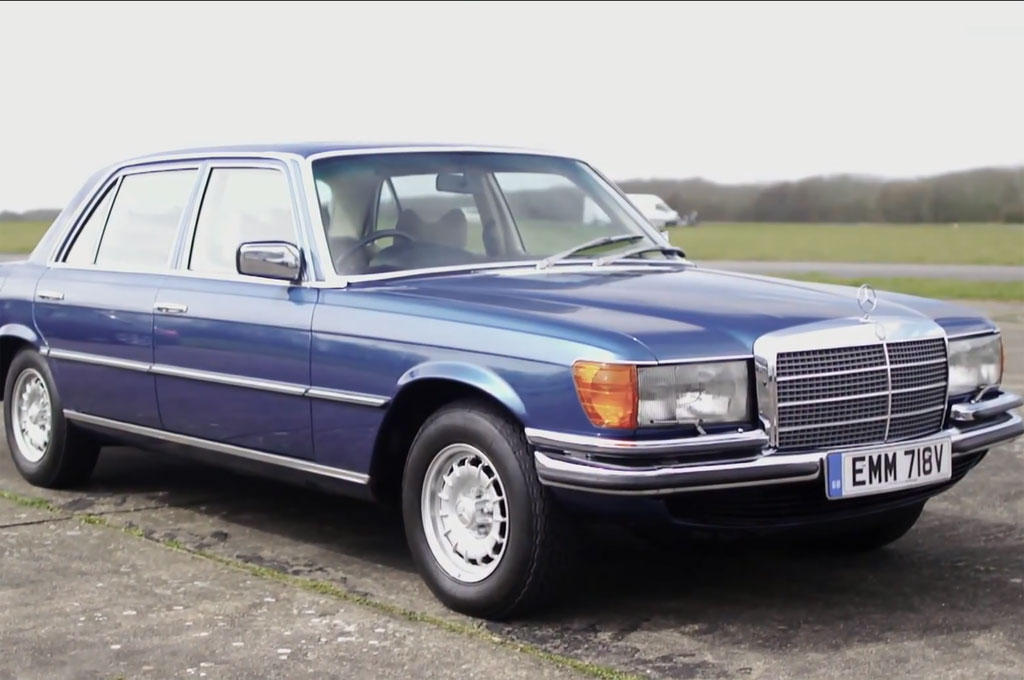 Feature Flick Mercedes S350 Diesel Takes On Legendary 450 SEL 69