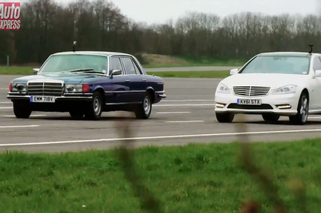 Feature Flick: Mercedes S350 Diesel Takes on Legendary 450
