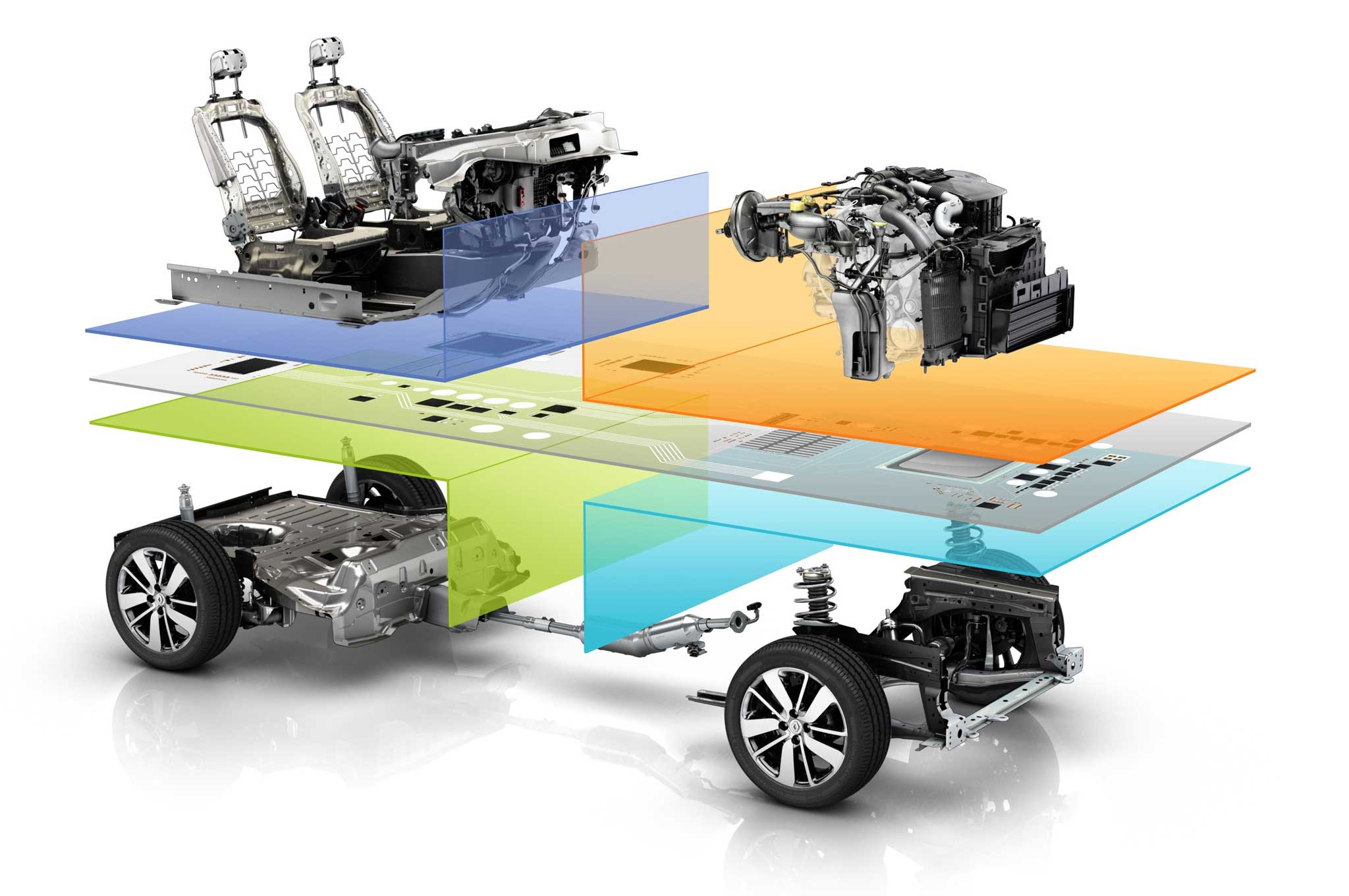 2014 Nissan Rogue Will Use New Renault Modular Platform Photo Leaf Engine Diagram Common Module Family