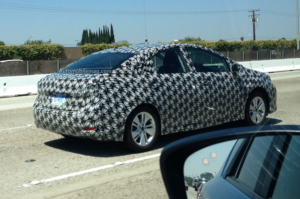 Toyota Or Lexus Prototype Rear Side View 21