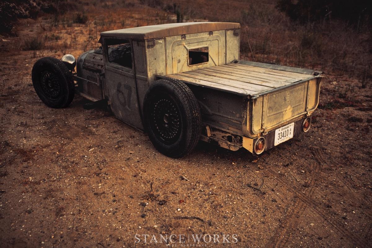 Stanceworks Hot Rod Rat Truck on 1995 Ford Ranger Engine