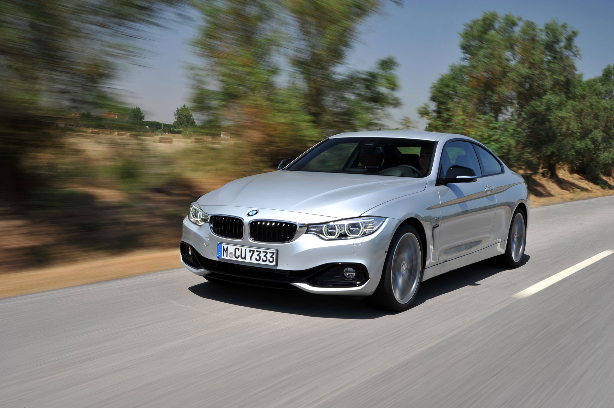 2014 BMW 435i Front Left View 6