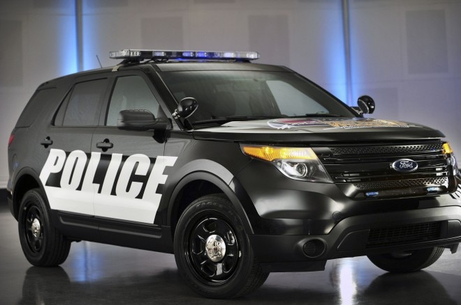 2014 Ford Police Interceptor Utility Front Angle