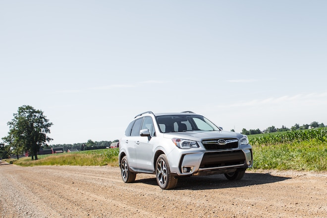 2014 Subaru Forester Front Right View 11