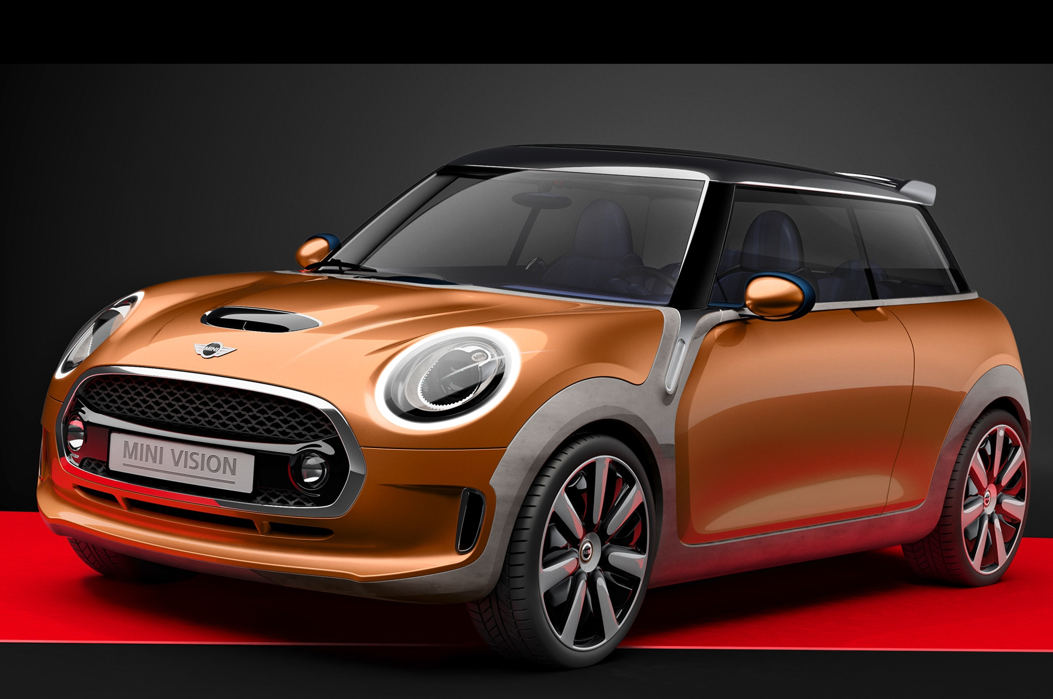 Mini Vision Concept Front Three Quarter1