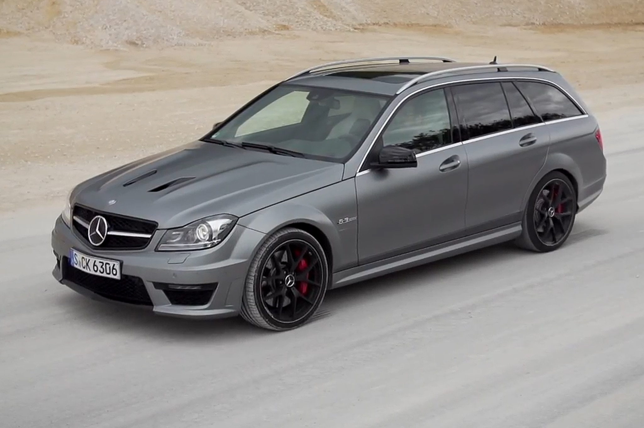 Feature Flick: 2014 Mercedes-Benz C63 AMG Edition 507 Wagon