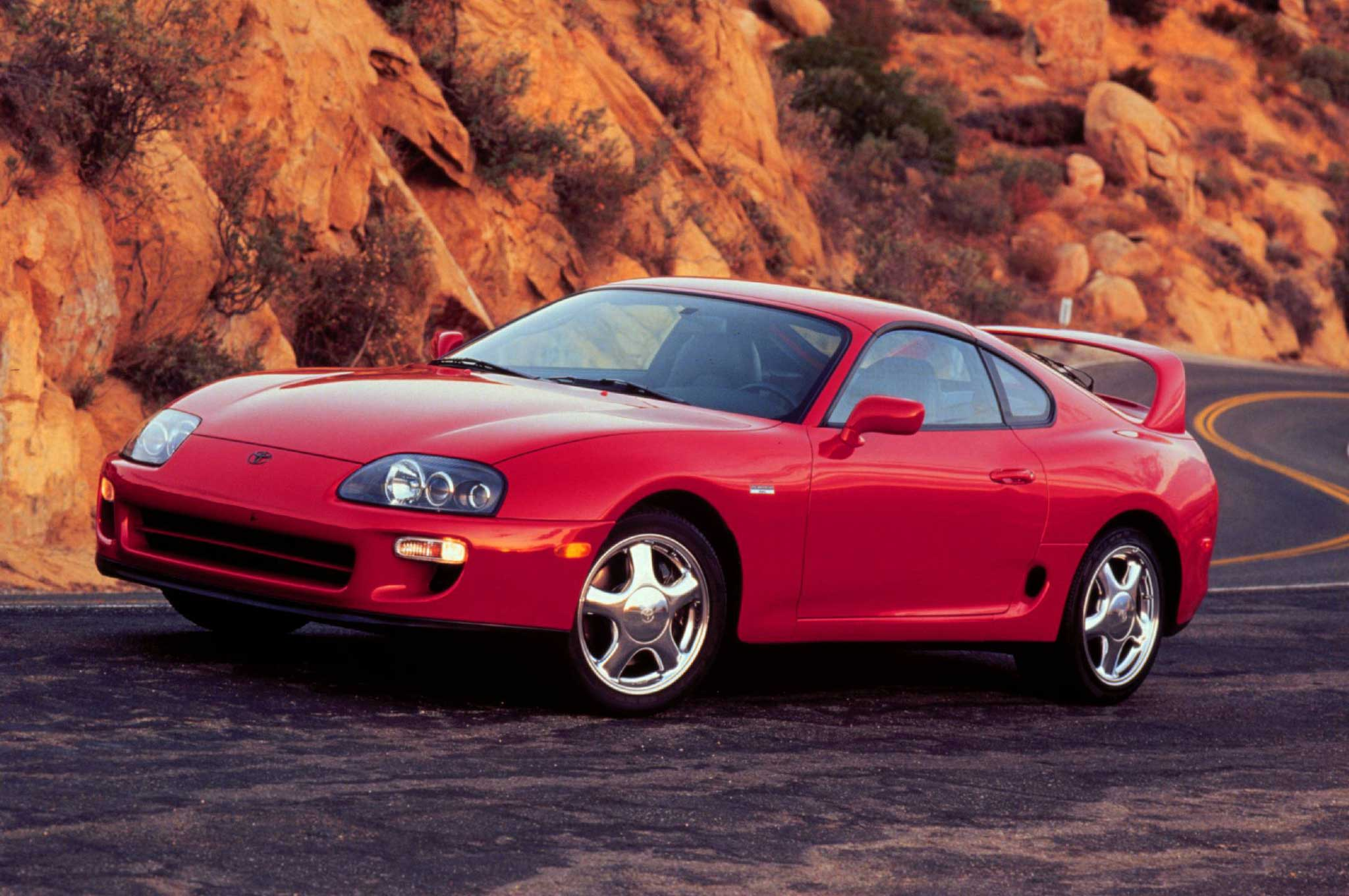 1997 Toyota Supra Turbo Front Three Quarter1