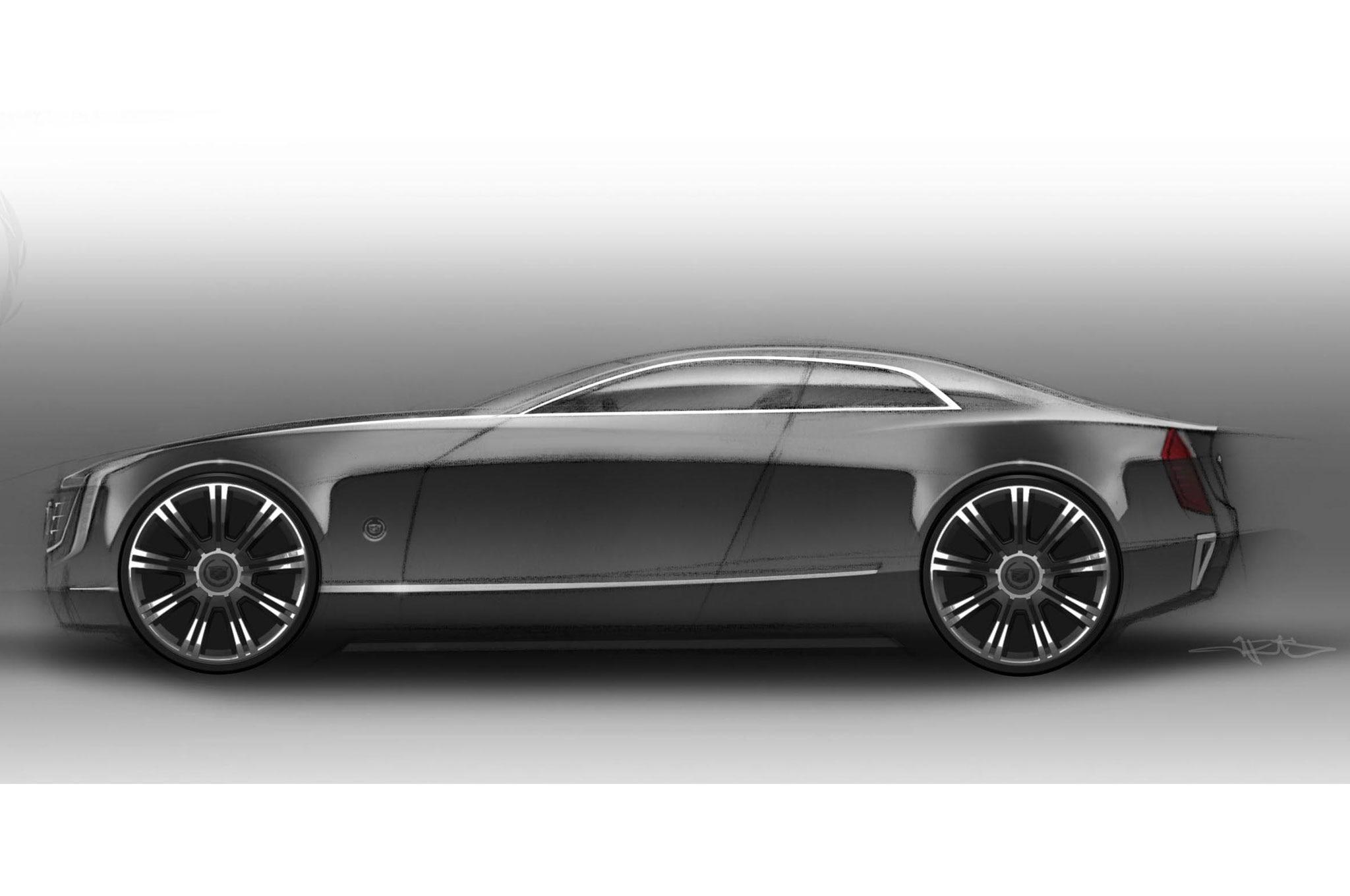 2013 Cadillac Elmiraj Concept Revealed at Pebble Beach Automobile