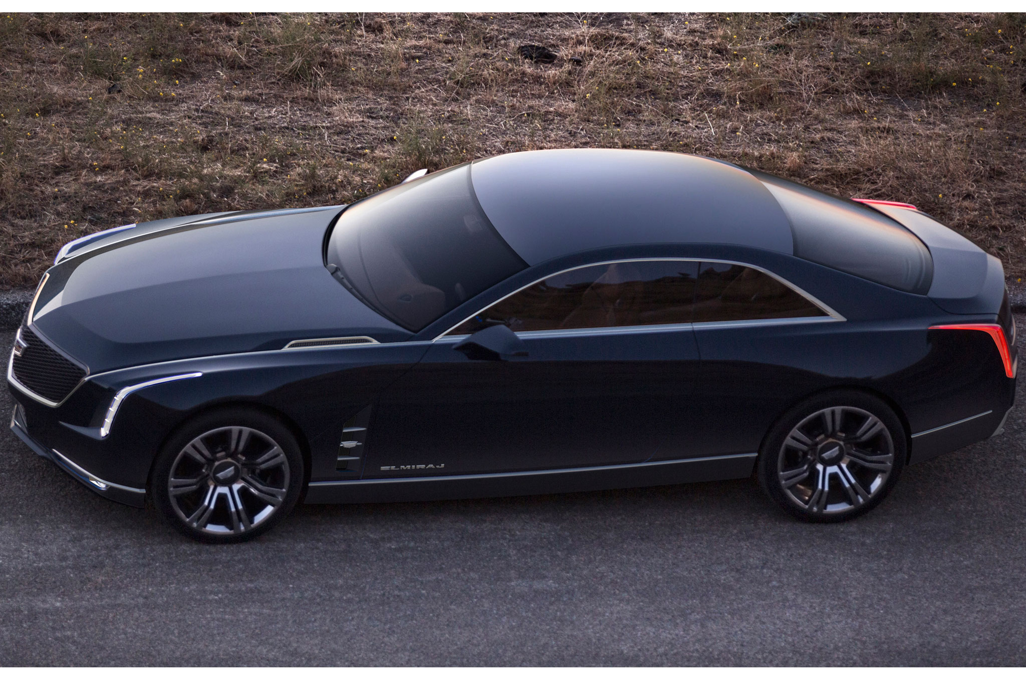 2013 Cadillac Elmiraj Concept Revealed at Pebble Beach - Automobile