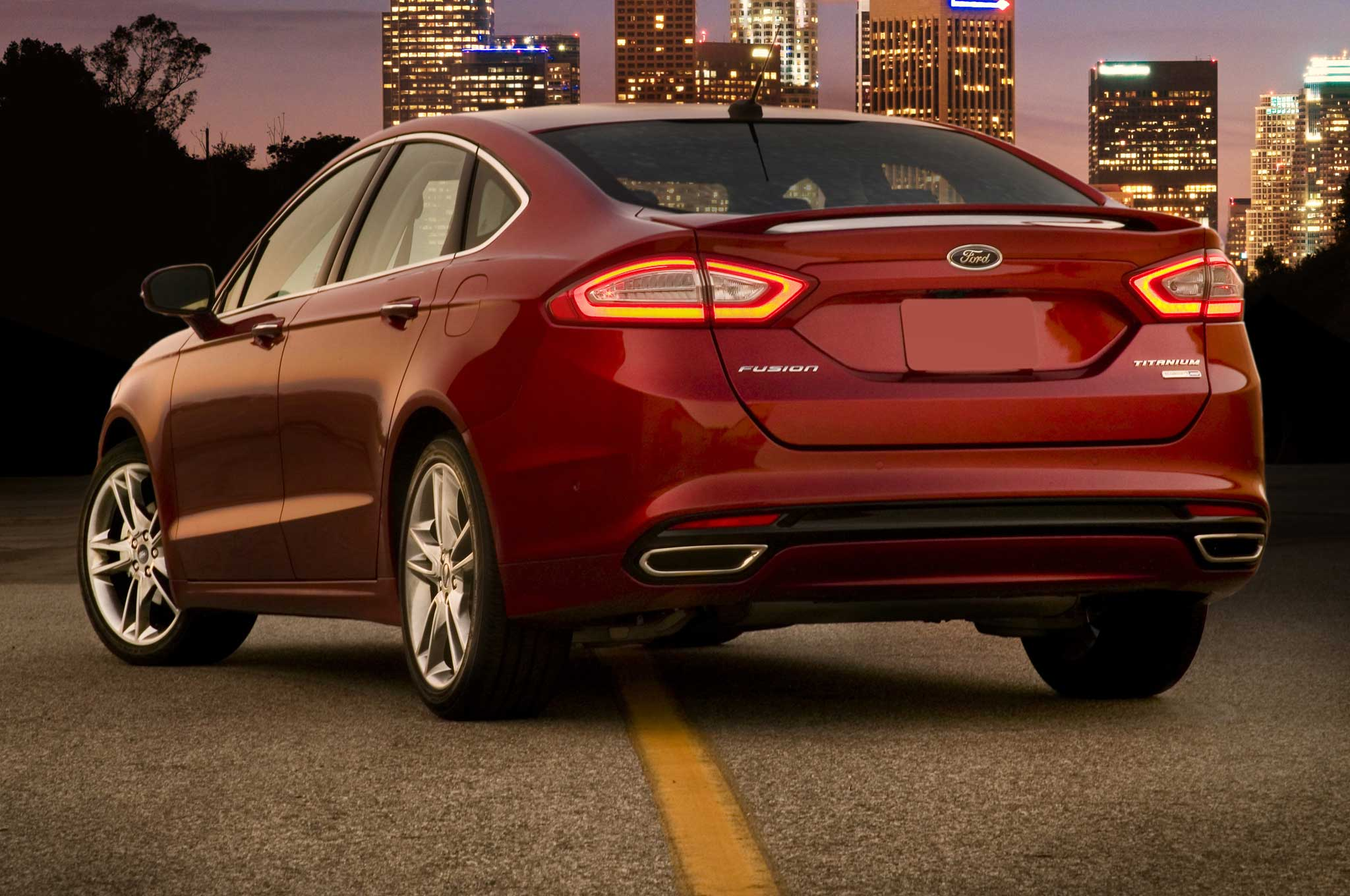 2014 Ford Fusion Gets Rear Seatbelt Airbags Photo Gallery