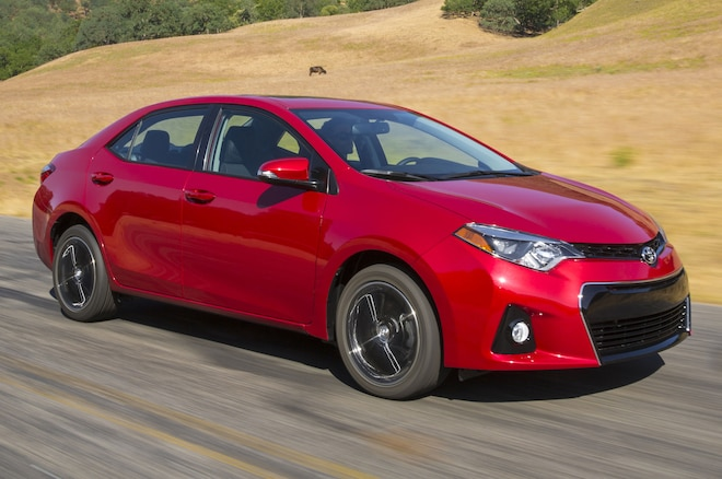 2014 Toyota Corolla S In Motion2