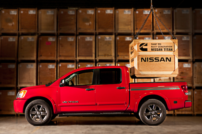 Nissan Partners With Cummins For Diesel Titan Pickup