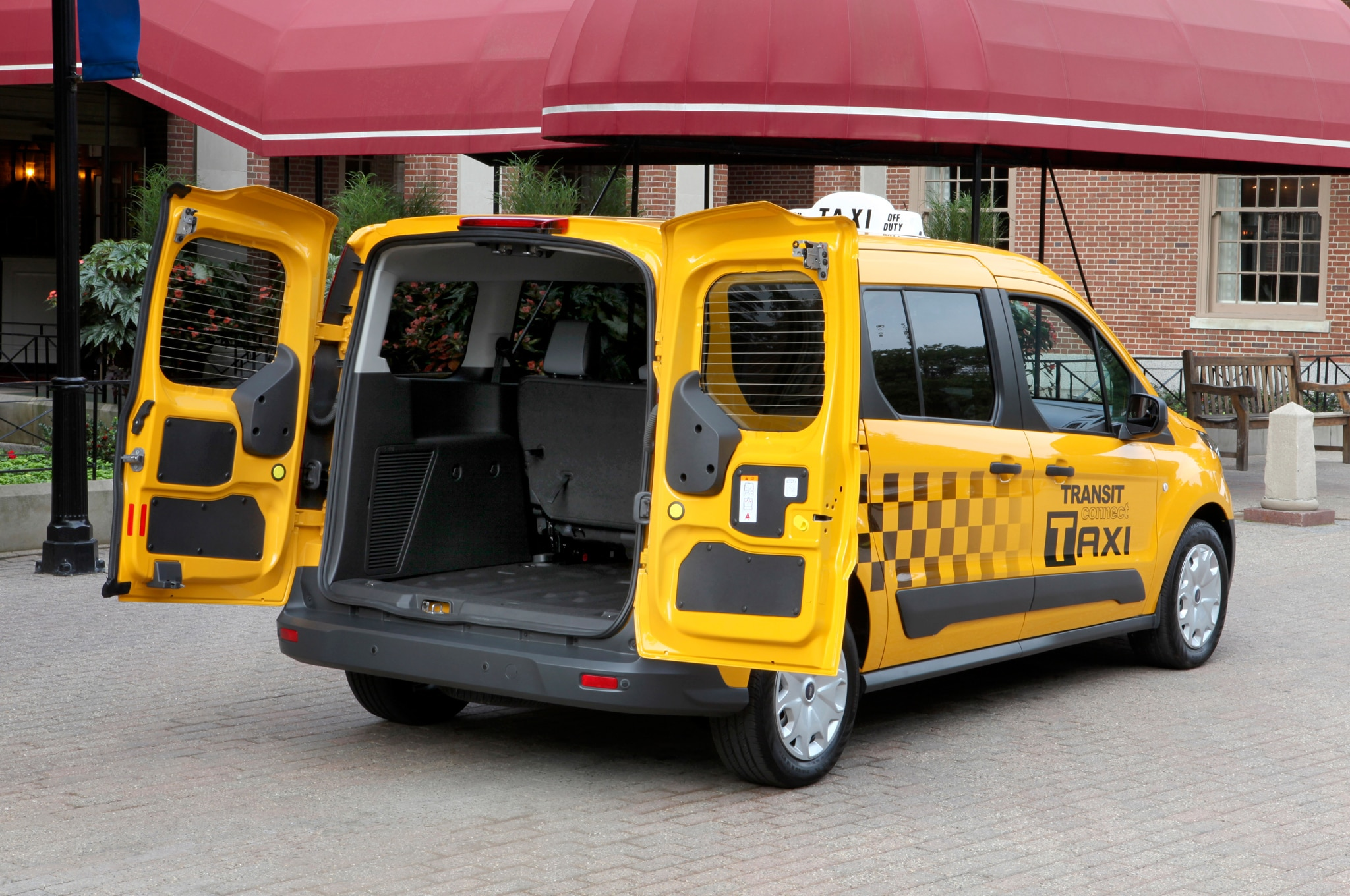 2014 Ford Transit Connect Taxi Version Shown