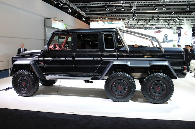Brabus Creates 690 Hp Six Wheeled Off Roader